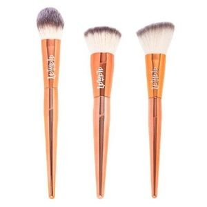Alamar Cosmetics | Rose Gold Complexion Brush Trio
